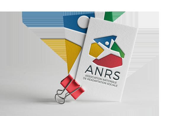 Identité visuelle ANRS - Association Nationale de Réadaption Sociale