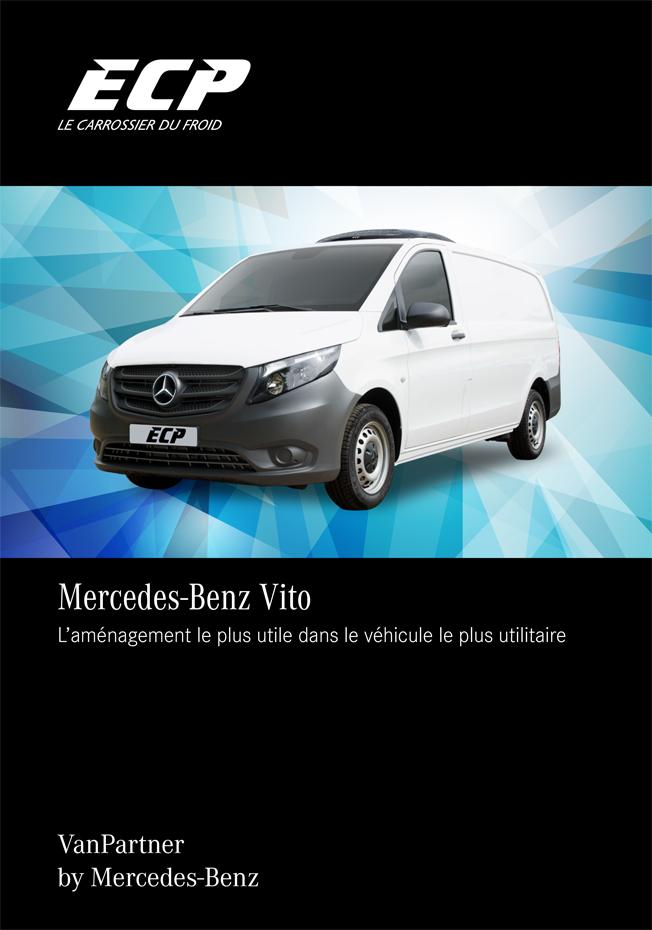 Recto Fiche produit Mercedes-Benz Vito aménagement par ECP