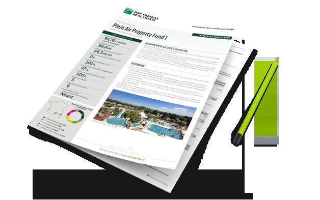 Document d'information périodique BNP Paribas REIM