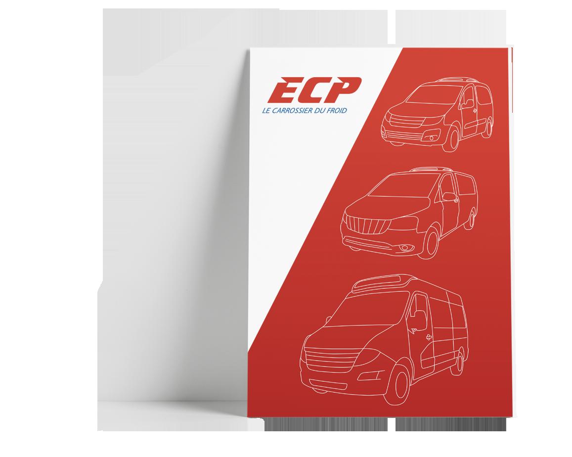 Identité graphique ECP - Le carrossier du froid